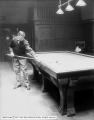 Lean at Gonbet Billiard Hall [Leon H. Goulet Billiard Hall]