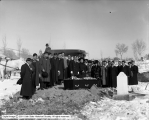 Japanese Funeral of M. Imai