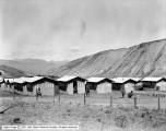 Yellowstone, Mammoth, Row of Tents