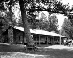 Yellowstone, Roosevelt Camp, Log Building