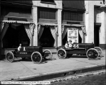 Essex Racing Machines in front of State St. Store