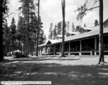 Yellowstone, Lake Camp, Log Buildings, Tents