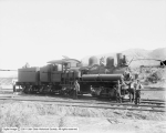 Denver and Rio Grande Railroad [Southern Utah Railroad] Shay Type Engine