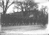 Soldiers Marching on South Temple