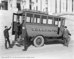 Wilson Hotel Auto Bus at Capitol