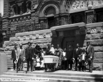 Funeral, St. Mary's [Cathedral of the Madeleine]