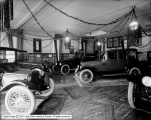 Botterill Auto Company Display, Dodge Brothers, Pierce Arrow and Hudson Cars