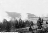 Yellowstone National Park - Wylie's Camp, Geysers