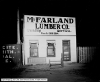 McFarland Lumber Company, Night View