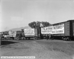 Carload of Willard Batteries with Trucks