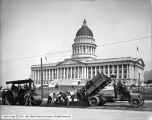 Paving at Capitol Building
