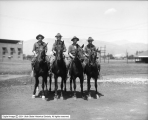Utah National Guard on Horses