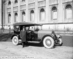 George A. Smith and Marmon Car by Temple