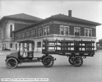 International Truck and Trailer at Denver and Rio Grande Depot
