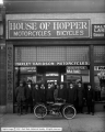House of Hopper, Group in Front of Store