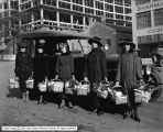 Mountain States Telephone and Telegraph Company Women with Christmas Baskets