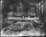 Warm Springs Bath House (New), Interior Showing Small Pool