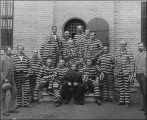"""Prisoners of Conscience.""  L.D.S. polygamous men imprisoned in Utah.  George Reynolds..."