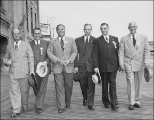 Andy Seiler, Fred Simonson, Fred Ballmer, J. Willard Marriott, Walter Clerk, and Jerry...