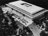 Architectural model for the new National Cultural Center, Washington D.C.