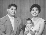 Willie, Lily and Richard Oshiro.