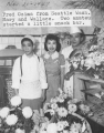 Fred Mishima, Mary and Wallace Doi.