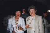 Ida Tateoka and an unidentified woman at the Colorado Springs Invitational, September 1995.