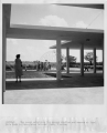 #R529-1.  The porch adjoining the ranger station and museum at Royal Palm Park in Everglades...