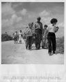 #R529-5.  Park Naturalist, Willard Dilley conducts a group of school children from Miami Beach...