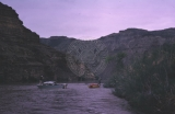 2nd day; 5/30/64.  Doctor Ross's boat-upper Desolation Canyon