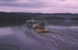 2nd day; 5/30/64.  Dr. Aaron Ross's boat towing Jack Brennan's cataract boat w/ Larry Ross and...