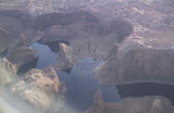 Aerial views of the Escalante River canyons, post-Lake Powell.