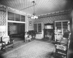 Interior of the Salt Lake Tribune building - sitting room
