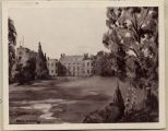 """Thomas Calley Stayner estate in England.  Photographed from original painting."""