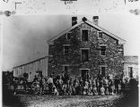 Cotton Mill and workers