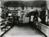 Mrs. Joffin in Park City Drug Store, circa 1915.