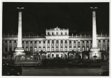 """Danube I"" (Buildings) Chapter 3, Illustration No. 9: Schonbrunn Palace at night,..."