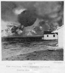"(Fig. 8) ""Fire resulting from a Gilsonite explosion [at] Bonanza Mine (1945) [Salt..."