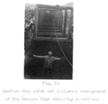 "(Fig. 14) ""Surface vein width and tail-rope arrangement of the Bonanza Mine stripping..."