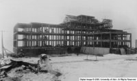Old VA Hospital under construction
