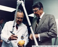 Dixon, John A., M.D. with Ronald Reagan