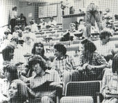 Medical Students Attending Classroom Lecture, circa 1980s