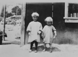 Shirley and Clyde Rodeback as Children