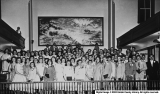 1956 Seminary Graduation in Uintah Stake Tabernacle