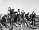 1952 Rodeo Queen and Attendants