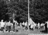 4-H Camp Flag Raising