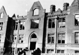 Converse Hall after Fire March 12, 1926