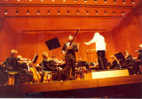 1980 Graduation: Conductor Kenneth Kuchler with Bassoonist