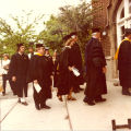 1975 Graduation: Students and Faculty