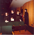 1980 Graduation: Graduates and Faculty